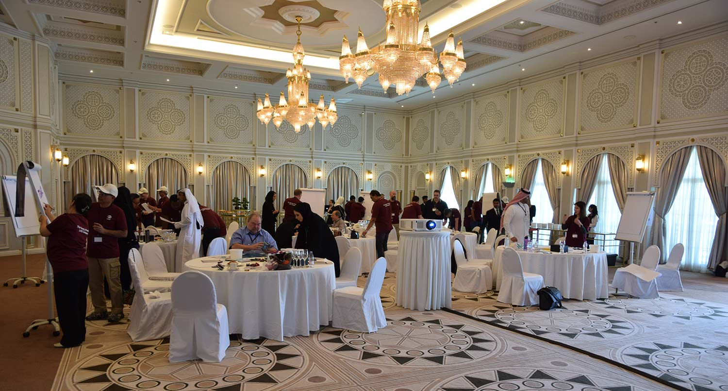 Training course at The Diplomatic Club Doha by Red Rock International